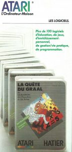 Catalogue Atari France - No date