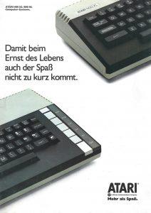 Catalogue Atari Deutschland - 1984