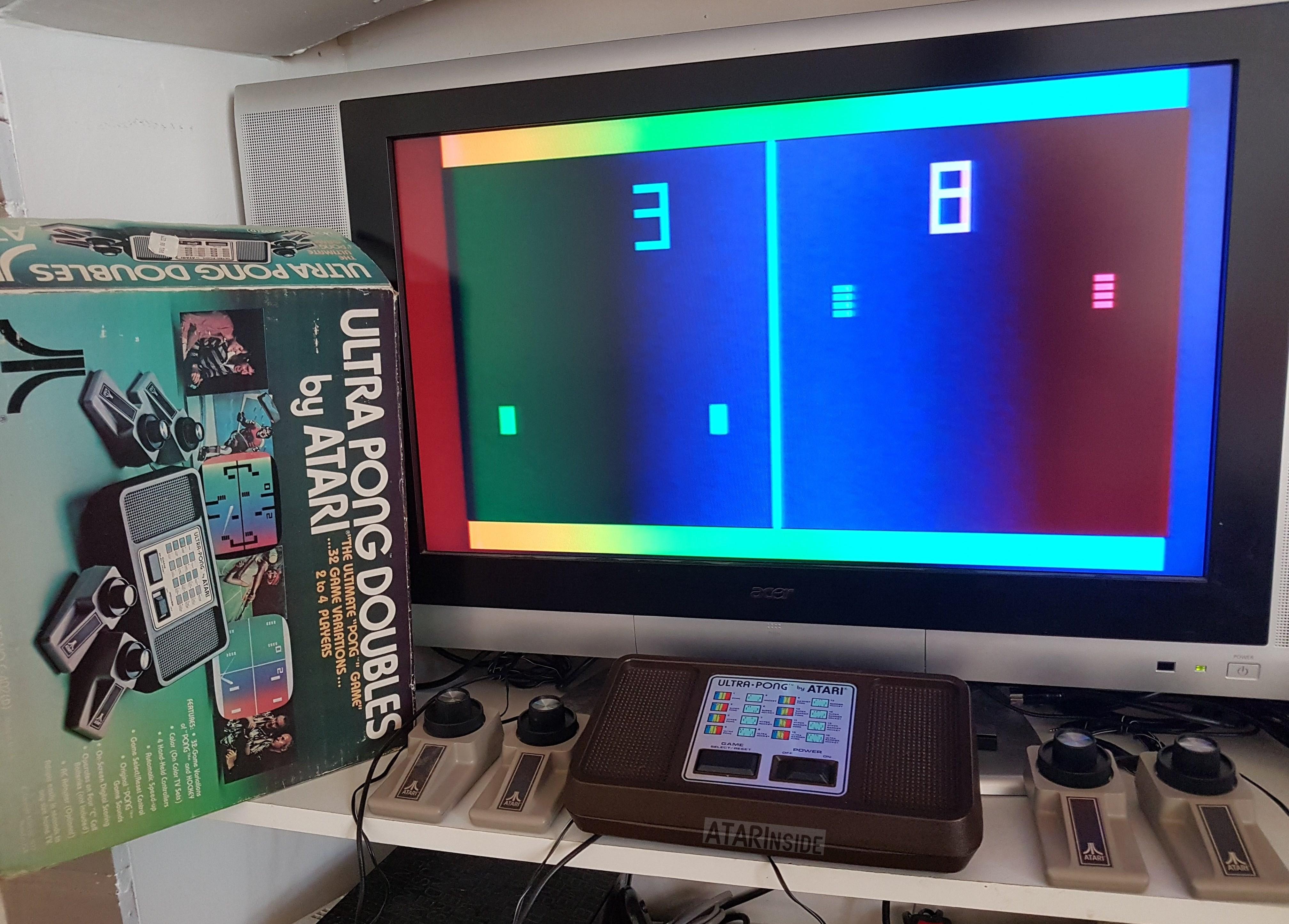 ATARI se la joue Psychédélique : ULTRA-PONG DOUBLE (1977) / Pong Sports IV + Tuto mod composite 20180503_154932