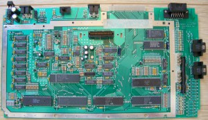ATARI 800 XL-SECAM V3-Serial 84ATS32524 S035-FRONT 800XL SECAM ROSE CA024969-001 REV--BACK GX-211 VO 4984-C024968 001 REV R3 800XL SECAM -Build 8 84-(freddie NCR USA)-FRONT