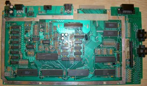 ATARI 800 XL-SECAM V4-Serial 84ATS48804 S175-FRONT 800XL SECAM ROSE CA024969-001 REV--BACK GX-211 VO 5084-C024968 001 REV R3 800XL SECAM -Build 8 84-(freddie NCR USA)-FRONT